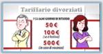 Tariffario divorzisti - Costume e Società del 16-3-2009