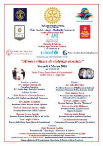 Minori vittime di violenza assistita @ Teatro Chiesa Santa Maria di Costantinopoli | Angri | Campania | Italia