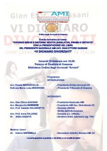 Divorzio breve e dintorni: novità legislative, prassi e criticità. @ Cosenza - Palazzo di Giustizia - biblioteca Arnoni | Cosenza | Calabria | Italia