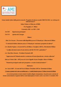 Scenari attuali e futuri della giustizia minorile. Prospettive di riforma secondo il Ddl 2953/2015: un rischio per la tutela del minore? @ Salone Valente c/o Palazzina ANMIG | Milano | Lombardia | Italia