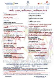LE FRONTIERE DELLA DISIBILITA'. NELLO SPORT, NEL LAVORO, NELLA SOCIETA' @ CASA ACCOGLIENZA GIOVANNI PAOLO II - OPERA DON ORIONE | Roma | Lazio | Italia