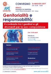Genitorialità e responsabilità:il contrasto tra i genitori e gli strumenti per la sua composizione @ AULA 3 PALAZZO DI GIUSTIZIA | Torino | Piemonte | Italia