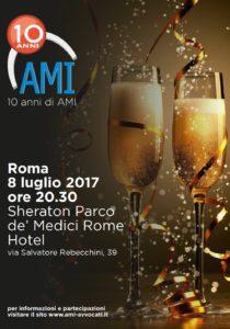Festa del decennale AMI @ Sheraton Parco dè Medici Rome Hotel | Lazio | Italia