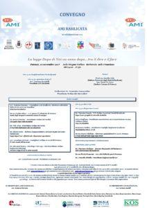 La legge Dopo di Noi un anno dopo…tra il dire e il fare @ Aula Magna Campus Universitario Francioso | Potenza | Basilicata | Italia