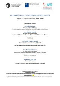 LE UNIONI CIVILI E I CONTRATTI DI CONVIVENZA @ Bolzano - Salone di rappresentanza del Comune | Bolzano | Trentino-Alto Adige | Italia