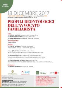 Profili deontologici dell'Avvocato familiarista @ Sala Nai'r Hotel b&b, Pisa | Pisa | Toscana | Italia