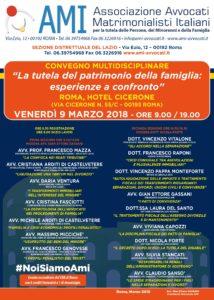 """""""La tutela del patrimonio della famiglia: esperienze a confronto"""" @ ROMA, HOTEL CICERONE   Roma   Lazio   Italia"""