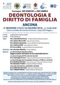 DEONTOLOGIA E DIRITTO DI FAMIGLIA @ Sala ex consiliare del Comune di Ancona | Ancona | Marche | Italia