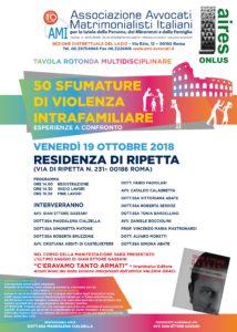 50 sfumature di violenza intrafamiliare - esperienze a confronto @ Residenza di Ripetta -  Sala Bernini - ROMA | Roma | Lazio | Italia