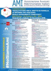 X Congresso Nazionale. Quale futuro per il diritto di famiglia? Le riforme che vogliamo: quale affidamento condiviso? @ Hotel Cicerone | Roma | Lazio | Italia