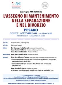 L' assegno di mantenimento nella separazione e nel divorzio @ Hotel Excelsior, Pesaro | Pesaro | Marche | Italia