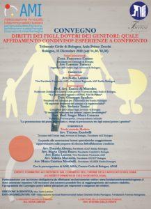 DIRITTI DEI FIGLI, DOVERI DEI GENITORI: QUALE AFFIDAMENTO CONDIVISO? ESPERIENZE A CONFRONTO @ Convento San Domenico - Sala Bolognini | Bologna | Emilia-Romagna | Italia