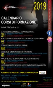Corso di formazione: Le tracce biologiche sulla scena del crimine @ Roma - via Casilina 233