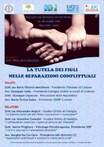 LA TUTELA DEI FIGLI NELLE SEPARAZIONI CONFLITTUALI @ Palazzo di Giustizia di Crotone | Crotone | Calabria | Italia