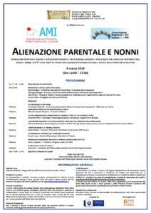ALIENAZIONE PARENTALE E NONNI @ Salone Brunelleschi - Palagio di Parte Guelfa in Piazzetta di Parte Guelfa - Firenze
