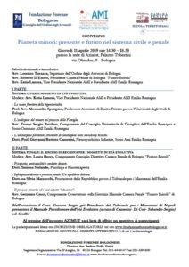 Pianeta minori: presente e futuro nel sistema civile e penale @ presso la sede di Azimut, Palazzo Tubertini via Oberdan, 9 - Bologna