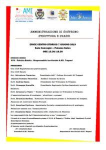 AMMINISTRAZIONE DI SOSTEGNO STRUTTURA E PRASSI @ Sala Convegni — Palazzo Sales