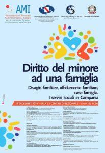 Diritto del minore ad una famiglia: disagio familiare, affido familiare, case famiglia. I servizi sociali in Campania @ Napoli, Sala C5 Centro direzionale