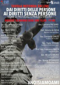 DAI DIRITTI DELLE PERSONE AI DIRITTI SENZA PERSONE: STORIE DI PROTOCOLLI E PROCESSI VIRTUALI @ ROMA - ONLINE