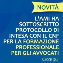 Il CNF sottoscrive con l'AMI un protocollo di intesa per l'attività formativa degli avvocati