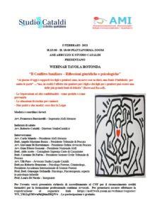 """""""Il Conflitto familiare – Riflessioni giuridiche e psicologiche"""" @ Pescara - webinair"""