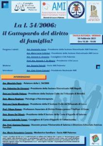 La l. 54/2006: il Gattopardo dell diritto dii famiglia? @ Tavola rotonda webinair Palermo