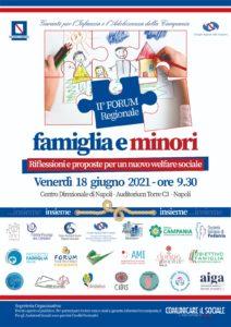 FAMIGLIA E MINORI: RIFLESSIONI E PROPOSTE PER UN NUOVO WELFARE SOCIALE @ Napoli, Centro direzionale Auditorium Torre C3
